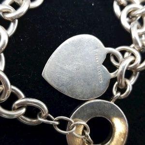 Jewelry - 💖 Tiffany® Heart Tag Toggle Bracelet